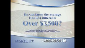 Senior Life Insurance Company TV Spot, 'Funeral' - Thumbnail 1