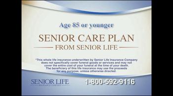 Senior Life Insurance Company TV Spot, 'Funeral'