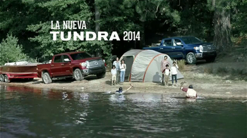 2014 Toyota Tundra TV Spot, 'Campando' [Spanish] - 97 commercial airings