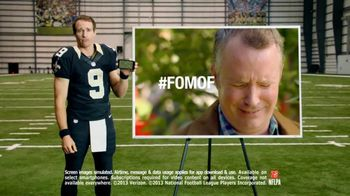 Verizon NFL Mobile TV Spot 'Apple Picking' Featuring Drew Brees