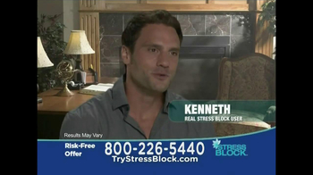 Stress Block TV Spot, 'Risk Free' - Thumbnail 3