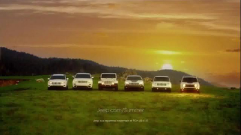 Jeep TV Spot, 'Chase Sunsets' Song by X Ambassadors - 2013 commercial airings