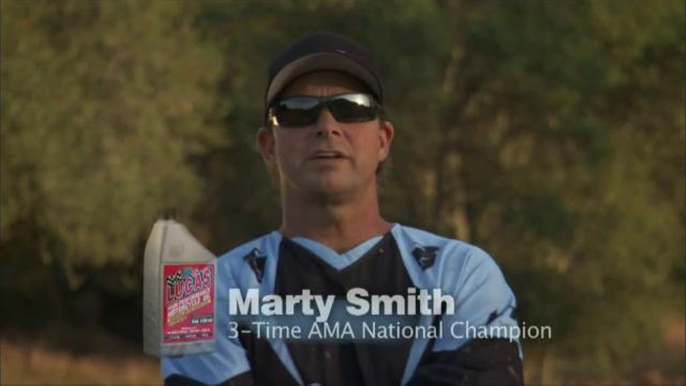 Lucas Oil  TV Commercial, 'Go for Longer' Featuring Marty Smith