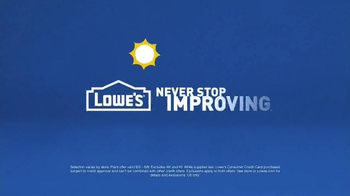 Lowe's TV Spot, 'Planning for the Future' - Thumbnail 5