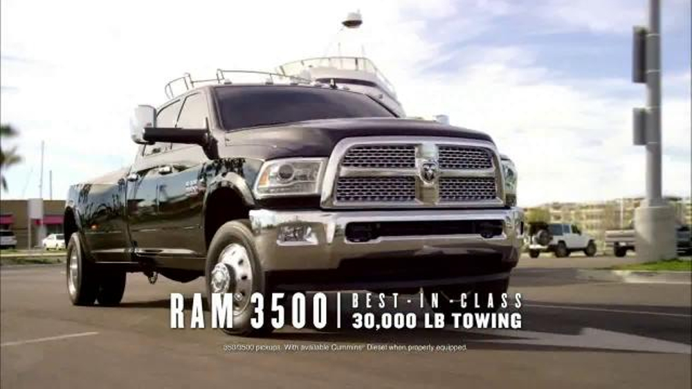 Ram Drive and Discover Event TV Commercial, 'The Best'