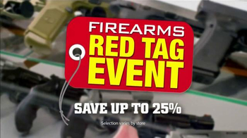 Gander Mountain Firearms Red Tag Event TV Spot, 'Savings On Rifles'