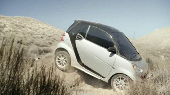 2015 Smart Electric Drive Coupe TV Spot, 'Offroading' - 6 commercial airings