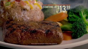 Outback Steakhouse Wood-Fire Grilled Flat Iron TV Spot, 'Bold Flavors' - Thumbnail 5