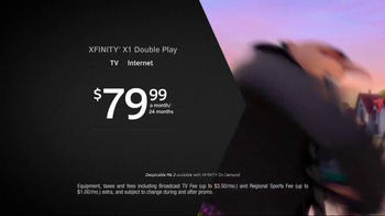 XFINITY X1 Double Play TV Spot, 'Like Never Before' - Thumbnail 3
