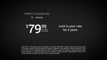 XFINITY X1 Double Play TV Spot, 'Like Never Before' - Thumbnail 8
