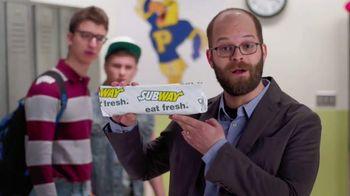 Subway Chipotle Chicken Melt TV Spot, 'PSA: Aggressive' Ft. Peter McNerney
