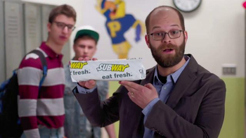 Subway Chipotle Chicken Melt TV Spot, 'PSA: Aggressive' Ft. Peter McNerney - 15 commercial airings