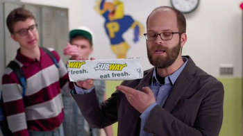 Subway Chipotle Chicken Melt TV Spot, 'PSA: Aggressive' Ft. Peter McNerney - Thumbnail 9