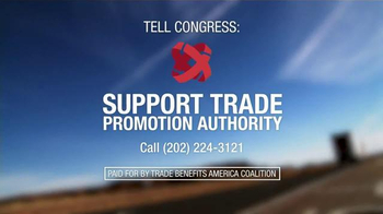 Trade Benefits America TV Spot, 'America Needs to Lead' - Thumbnail 9