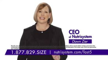 Nutrisystem Fast 5+ TV Spot, 'Be Healthy' Feat. Marie Osmond & Dawn Zier - 486 commercial airings