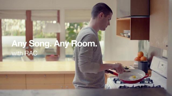 Sonos With RAC TV Spot, 'Any Song, Any Room' - Thumbnail 2