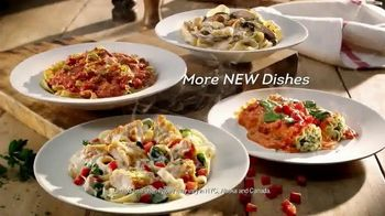 Olive Garden Tuscan Dinner TV Spot, 'More New Dishes'