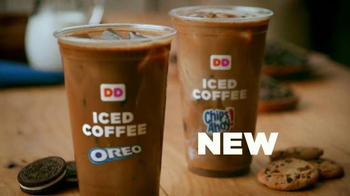 Dunkin' Donuts Oreo and Chips Ahoy! Iced Coffees TV Spot, 'Hula Hoop' - 860 commercial airings