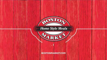 Boston Market All Natural Rotisserie Chicken TV Spot, 'Making Food Good' - Thumbnail 7