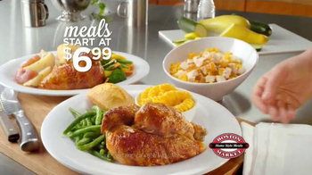 Boston Market All Natural Rotisserie Chicken TV Spot, 'Making Food Good' - Thumbnail 6