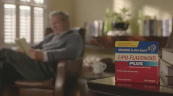 Lipo-Flavonoid Plus TV Spot, 'Quiet the Ringing' Song by George Pauley - Thumbnail 2