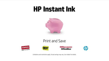 HP Instant Ink TV Spot, 'Father and Son' - Thumbnail 7