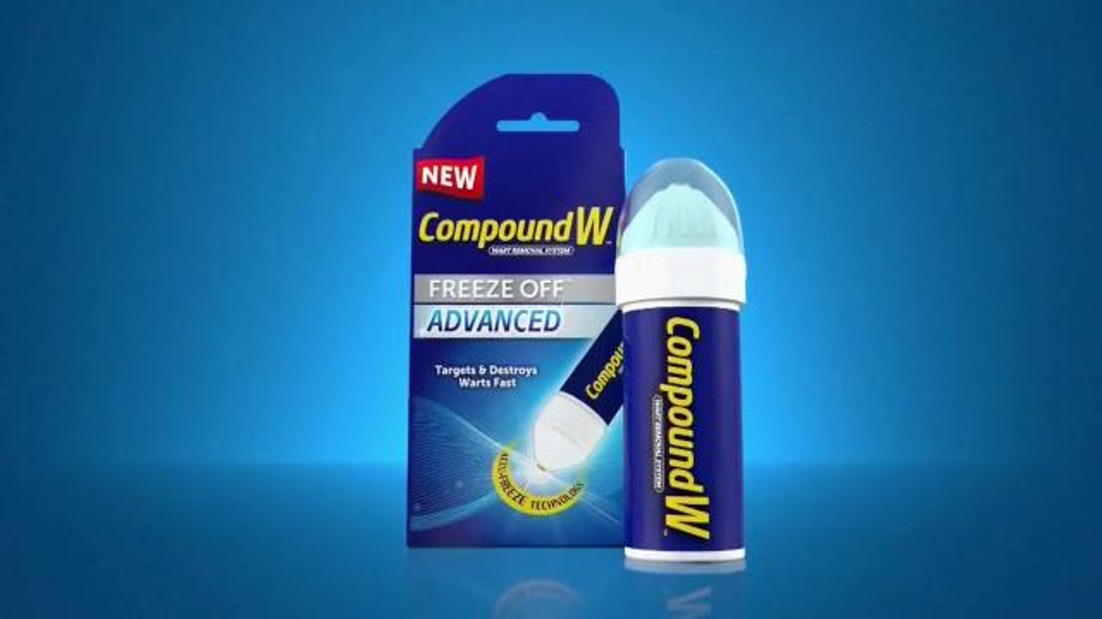 Compound W Freeze Off Advanced TV Commercial, 'Accu-Freeze Technology'