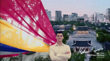 Asiana Airlines TV Spot, 'Travel With Color' Featuring Matthew Kepnes - Thumbnail 6