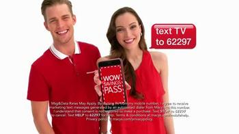 Macy's Super Saturday Sale TV Spot, 'Wow Pass' - Thumbnail 8