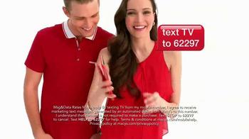 Macy's Super Saturday Sale TV Spot, 'Wow Pass' - Thumbnail 7