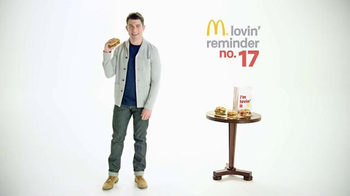 McDonald's Sirloin Third Pounders TV Spot, 'Upholstery' Ft. Max Greenfield - 44 commercial airings