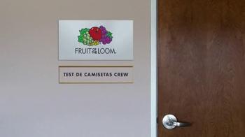 Fruit of the Loom Stay-Tucked Crew TV Spot, 'Patada' [Spanish] - Thumbnail 1