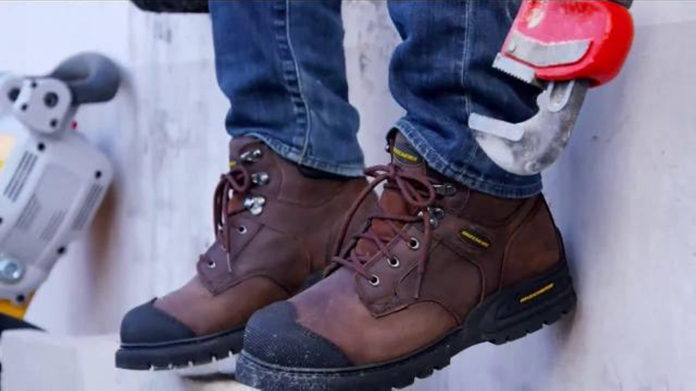 SKECHERS Work Footwear TV Commercial, 'Safety Toe Work Division'