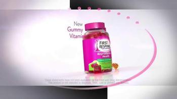 First Response Gummy Vitamins TV Spot, 'Nutrients You Need' - Thumbnail 2