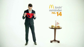 McDonald's Sirloin Third Pound Burgers TV Spot, 'Tongs' Ft. Max Greenfield - 44 commercial airings