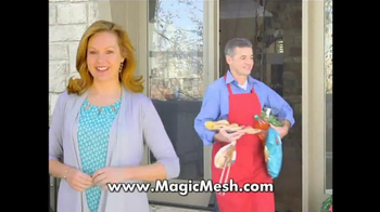 Magic Mesh TV Spot, 'Magically Closes Itself'