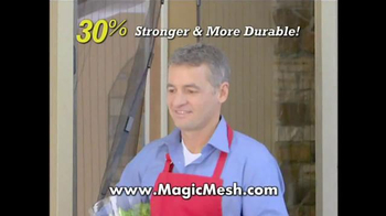 Magic Mesh TV Spot, 'Magically Closes Itself' - Thumbnail 9