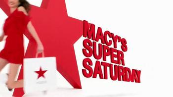 Macy's Super Saturday Sale TV Spot, 'Early Bird Savings Pass' - Thumbnail 2