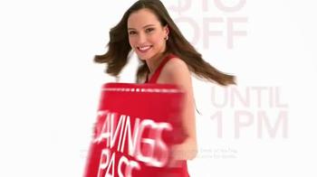 Macy's Super Saturday Sale TV Spot, 'Early Bird Savings Pass' - Thumbnail 6