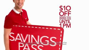 Macy's Super Saturday Sale TV Spot, 'Early Bird Savings Pass' - Thumbnail 7