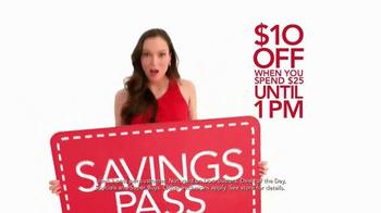 Macy's Super Saturday Sale TV Spot, 'Early Bird Savings Pass' - Thumbnail 8
