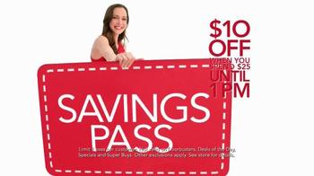 Macy's Super Saturday Sale TV Spot, 'Early Bird Savings Pass' - Thumbnail 9
