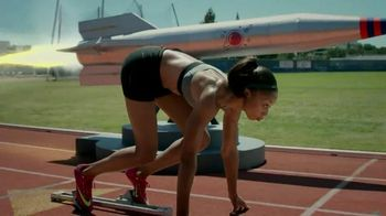 Nike TV Spot, 'Allyson vs. Rocket' Featuring Allyson Felix - 10 commercial airings