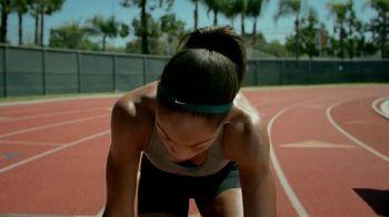 Nike TV Spot, 'Allyson vs. Rocket' Featuring Allyson Felix - Thumbnail 4