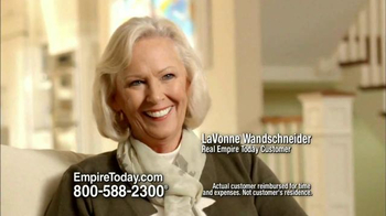 Empire Today TV Spot, 'LaVonne Wandschneider'