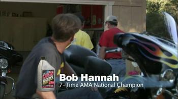 Lucas Motorcycle Oil TV Spot, 'Demanding the Best' Featuring Bob Hannah - Thumbnail 4
