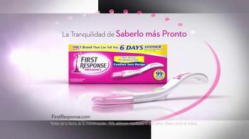 First Response TV Spot, 'Curva para tu Mano' [Spanish] - Thumbnail 9