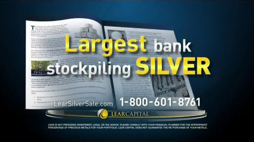 Lear Capital Silver TV Commercial, 'Stockpile'