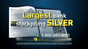 Lear Capital Silver TV Spot, 'Stockpile'