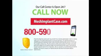Gold Shield Group TV Spot, 'Mesh Implant Case' - Thumbnail 10